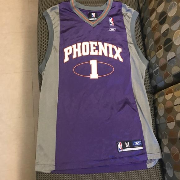 new concept 1a343 0191b Amare Stoudemire Phoenix Suns NBA purple jersey